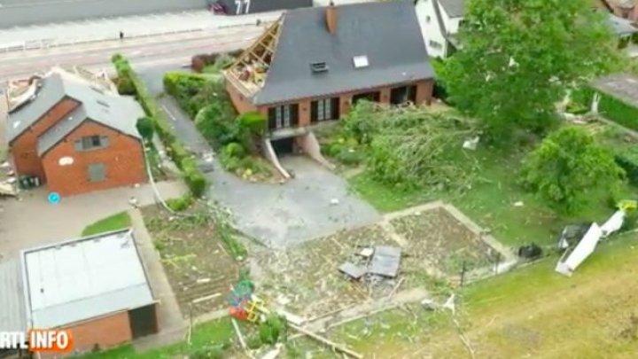 Care este starea moldoveanului rănit în urma tornadei din Belgia