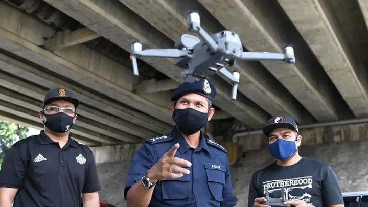 Țara care folosește drone pentru detectarea persoanelor cu febră, suspecte de COVID-19
