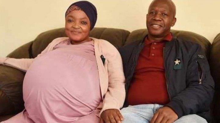 Nou record mondial. O femeie din Africa de Sud a născut 10 bebeluși