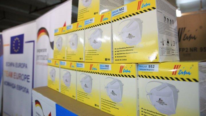 O nouă donaţie pentru Moldova. Guvernului Germaniei şi Organizaţiei Mondiale a Sănătăţii a donat ţării noastre echipamente medicale