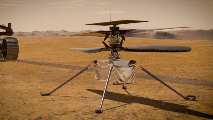 Elicopterul Ingenuity a încheiat al optulea zbor pe planeta Marte