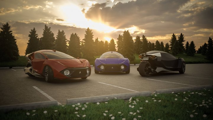 Cum arată prima mașină din lume care produce bani în timp ce stă în parcare. Cât va costa automobilul şi ce viteză va atinge (FOTO)