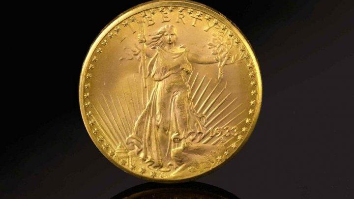 O monedă americană din aur, vândută cu o SUMĂ URIAŞĂ
