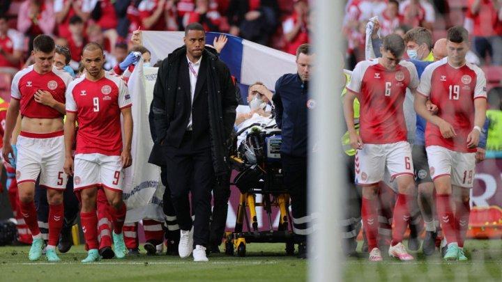 Danezii au oferit ultimele detalii privind starea de sănătate a lui Eriksen! Comunicatul oficial