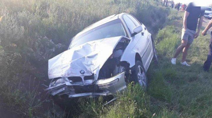 ACCIDENT ÎNFIORĂTOR la Ialoveni. Un copil de doar 5 ani a murit, iar alte trei persoane au ajuns în stare gravă la spital (FOTO)