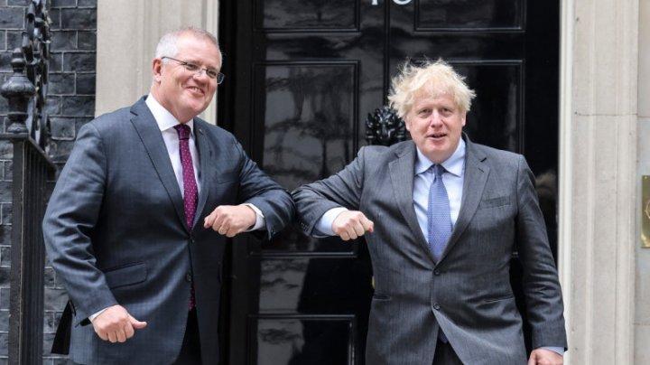 Australia și Marea Britanie au semnat un acord de liber schimb post-Brexit