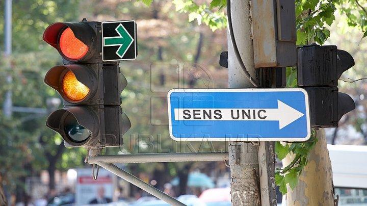 Pe o stradă din centrul Capitalei circulația transportului va fi organizată în sens unic