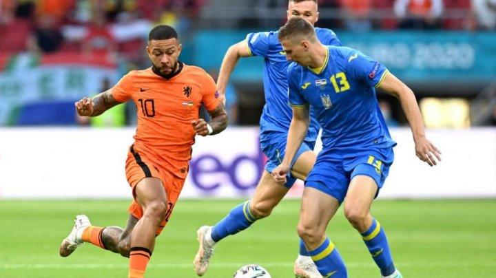 Show total la Euro 2020. Țările de Jos au câștigat meciul cu Ucraina