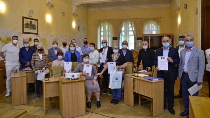 17 străini care locuiesc în Chişinău au depus jurământul pentru obţinerea cetăţeniei Republicii Moldova
