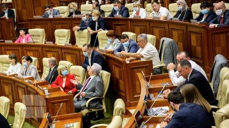 Vladimir Voronin și Igor Dodon nu au nicio funcție în noua fracțiune din care fac parte
