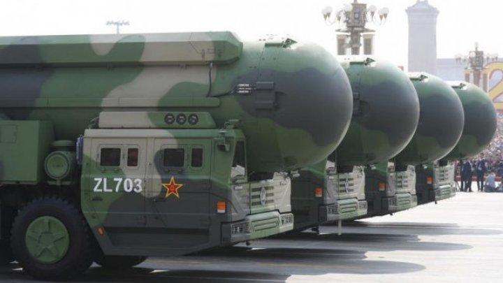 China ar fi început să construiască noi silozuri pentru rachete nucleare