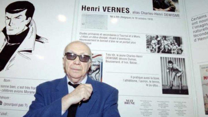A murit scriitorul Henri Vernes, creatorul seriei Bob Morane