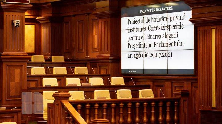 (FOTOREPORT) Ședința de constituire a Parlamentului de Legislatura a XI-a - 29 iulie 2021 (partea a II-a)