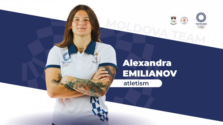 Moldoveanca Alexandra Emilianov şi-a încheiat evoluţia la prima sa Olimpiadă din carieră