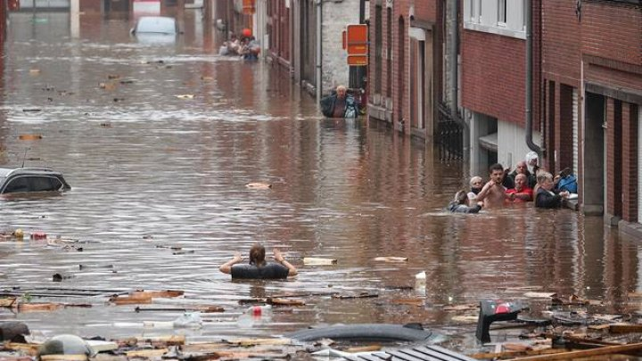 Bilanțul victimelor inundațiilor catastrofale de săptămâna trecută în Belgia, în creștere