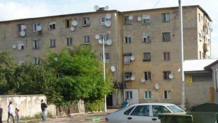 Cum antena parabolică i-a salvat viața unui cernăuțean care a căzut de la etajul opt al unui bloc de locuit