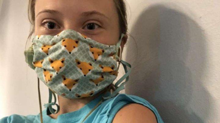 Greta Thunberg s-a vaccinat împotriva maladiei COVID-19