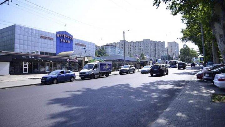 Lucrările de reparaţie a străzii Ion Creangă, în perimetrul str. Alba Iulia - E. Coca, finalizate