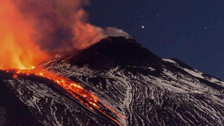 Zeci de localități din Sicilia sunt în pragul falimentului, din cauza vulcanului Etna