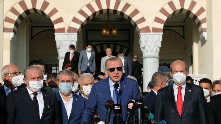 """Erdogan inflamează conflictul din Cipru: """"Avem dreptate și ne vom apăra dreptatea până la sfârșit"""""""