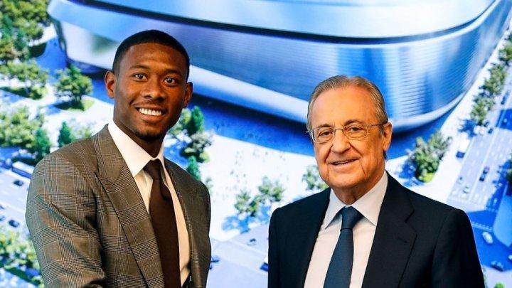 David Alaba a fost prezentat oficial la Real Madrid