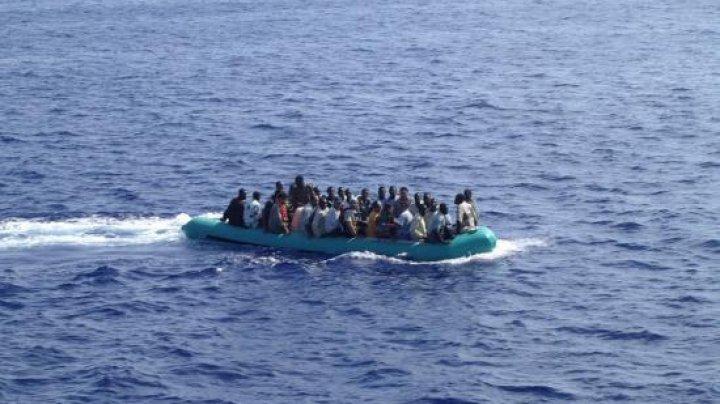 O barcă cu migranți s-a scufundat în Marea Mediterană. Cel puțin 57 de persoane au murit