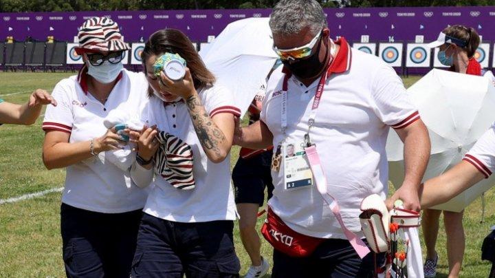 Jocurile Olimpice: A leşinat în timpul competiției din cauza căldurii