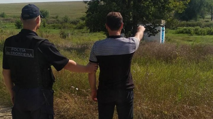 Un bărbat a fost reținut în momentul în care ar fi încercat să pătrundă ilegal în Moldova. Cum și-a justificat fapta