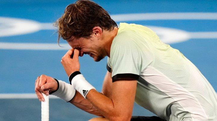 Alexander Zverev a izbucnit în plâns după ce l-a eliminat pe Djokovic de la Jocurile Olimpice