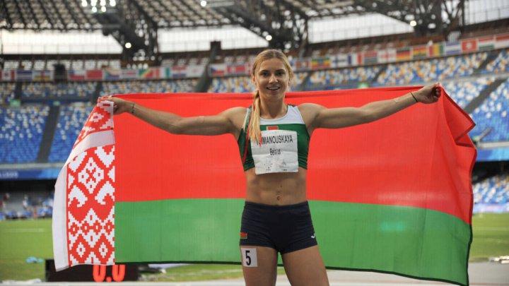 Sportiva Kristina Timanovkaia a ajuns în Polonia sub protecția diplomatică a acestei ţări
