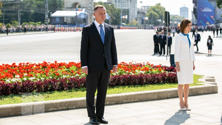 FOTOREPORT din PMAN de Ziua Independenței
