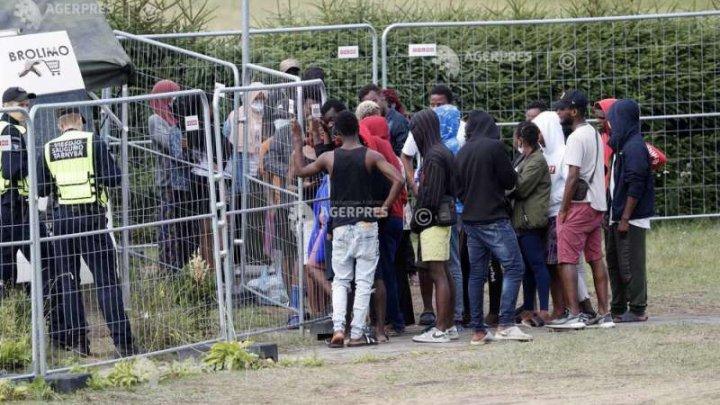 Belarusul mediatizează cazuri de migranţi agresaţi când încercau să treacă graniţa cu Lituania