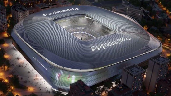 """Real Madrid revine acasă, pe stadionul renovat. Noul """"Santiago Bernabeu"""" va fi o arenă de 5 stele"""