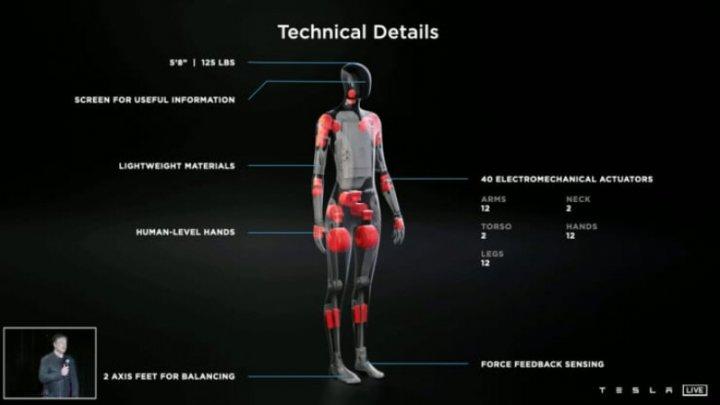 Tesla construiește un robot umanoid care va fi capabil să ne facă cumpărăturile