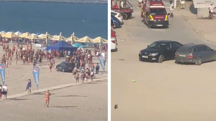 Scandal de amploare pe plajă. Turiștii au intrat în altercații cu salvamarii