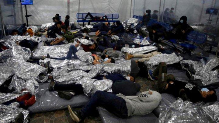 Mii de migranți minori, captivi în facilitățile poliției de frontieră americane
