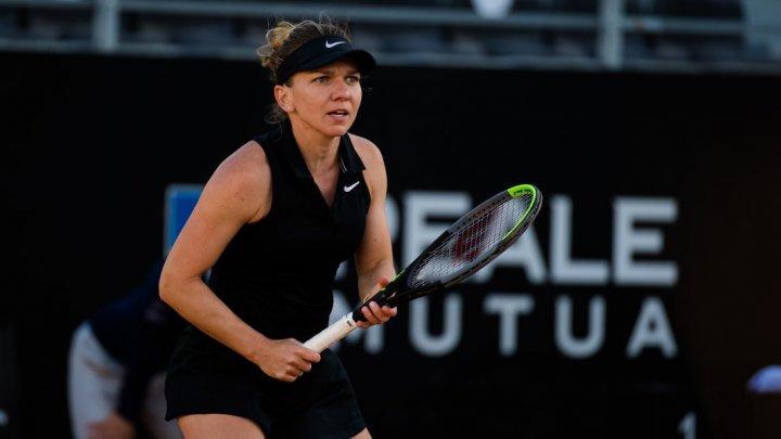 Simona Halep s-a calificat în turul al doilea la US Open, după ce a învins-o pe Camila Giorgi