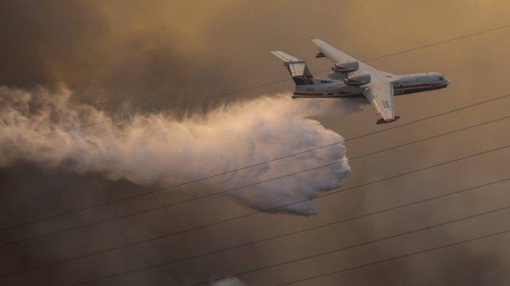 Avioane, elicoptere şi pompieri trimiși de UE să ajute Italia, Grecia, Albania şi Macedonia de Nord în lupta cu incendiile