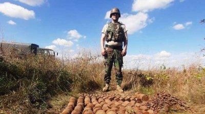 160 de obiecte explozive și 2 221 de cartușe, neutralizate în raionul Ştefan Vodă