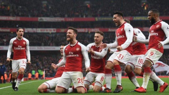 Arsenal Londra au câștigat în fața lui Tottenham Hotspur, scor 3-1