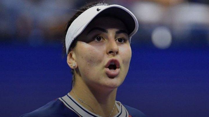 Tenismena Bianca Andreescu a învins-o pe Viktorija Golubic la turneul de Mare Șlem de la US Open