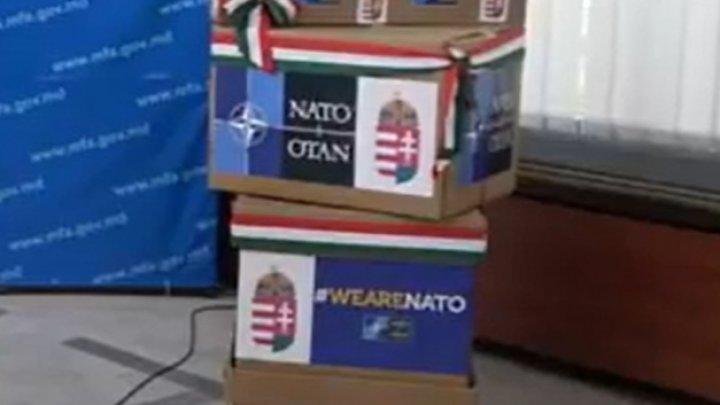 Ungaria şi NATO au donat ţării noastre echipament medical în valoare de 1,4 milioane de euro