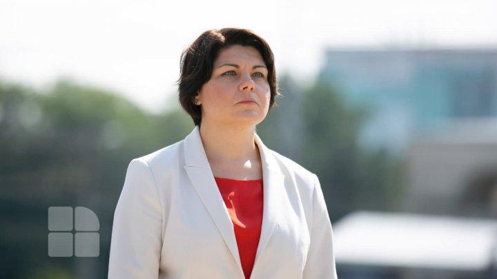 Premierul Natalia Gavriliţa efectuează o vizită de lucru la Bruxelles