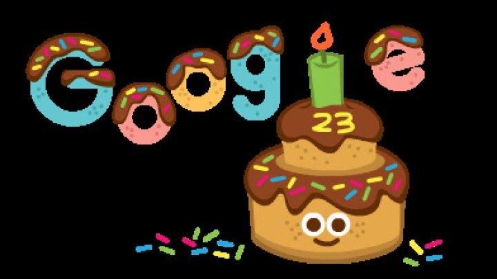 Motorul de căutare Google sărbătorește 23 de ani