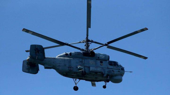 Un elicopter al FSB, cu trei persoane la bord, s-a prăbușit în Kamceatka