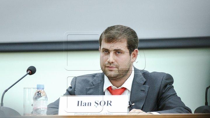 Deputatul Ilan Şor nu va mai primi salariu de la Parlament