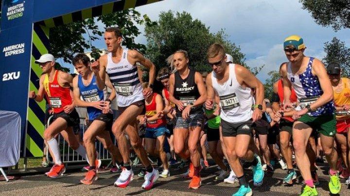 """Maratonul din Brighton:  Organizatorii  și-au cerut scuze pentru că traseul a fost """"prea lung"""""""