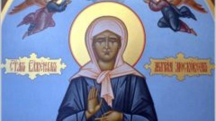 Icoana Sfânta Fericită Matrona și moaștele ei au fost aduse la Chişinău. Zeci de enoriași au venit ca să se închine relicvelor