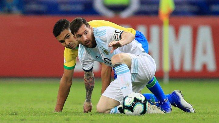 "Scene incredibile la ""clasicul"" sud-american Brazilia - Argentina din preliminariile Campionatului Mondial din 2022"