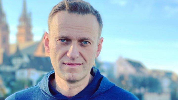 Opozantul rus Alexei Navalinîi, nominalizat pentru Premiul Saharov
